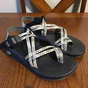 Chaco ZX2 Women's Sandals Gray White Size 9